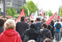 Bild einer Demonstration - © zuchero / Fotolia.com